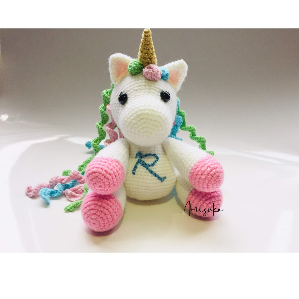 Sleeping unicorn pony crochet pattern - printable PDF – Amigurumi ... | 1024x1024