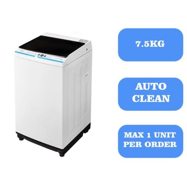 Midea Washing Machine Fully Auto With Digital Display7.5 KG-MA100W75/WK/E / 8.5KG-MA100W85/WK/E