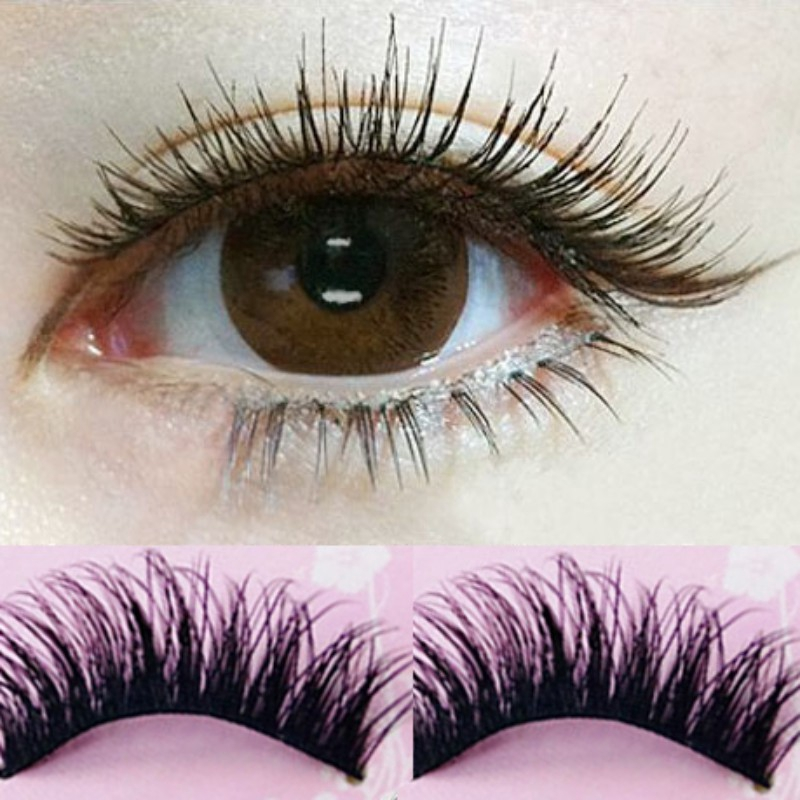 db5dddd760f ProductImage. ProductImage. Cloudkk 5 Pairs Natural Eye Lashes Handmade Thick  Fake False Eyelashes