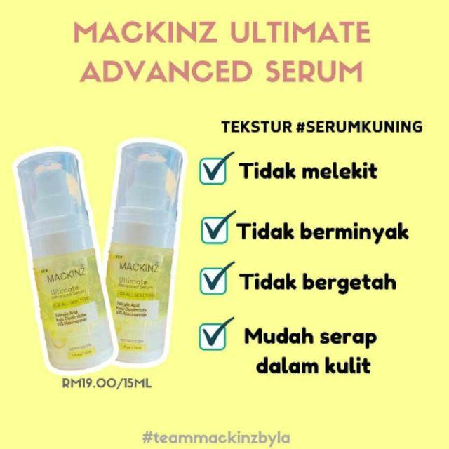 Ultimate Advanced Serum By Mackinz