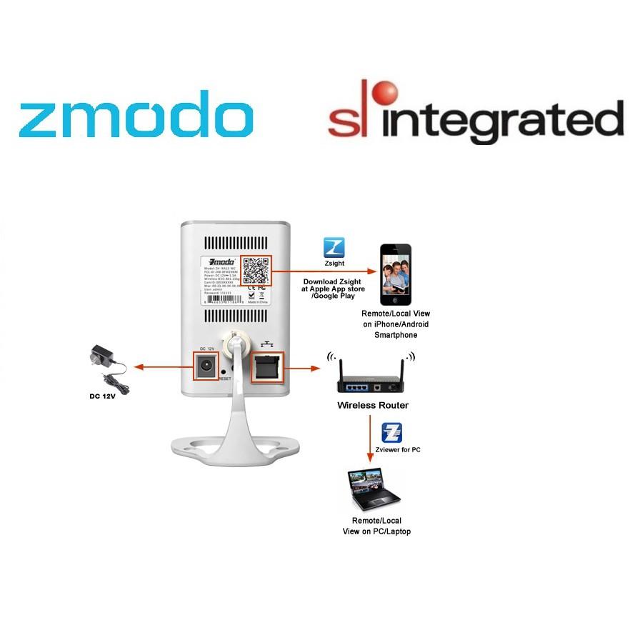 ⭐11 11⭐ Zmodo 720P HD Wireless Network IP Camera   Shopee Malaysia