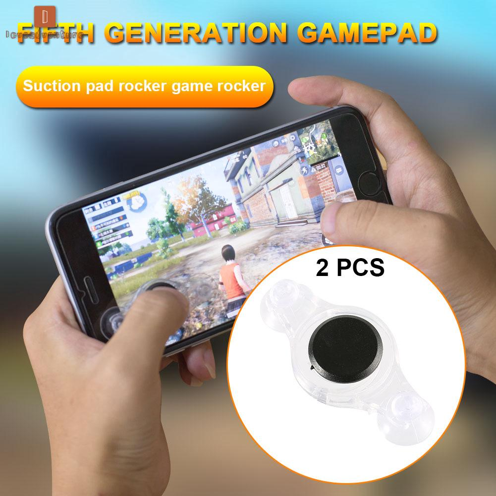 LV△ 1 Pair Mobile Phone Game Fling Mini Joystick Screen Thumb Controller for And | Shopee Malaysia