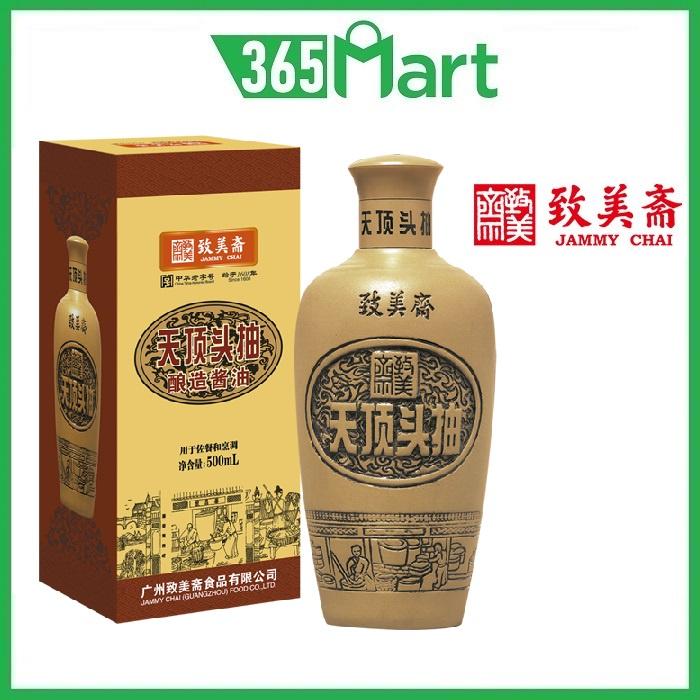 JAMMY CHAI Supreme Soy Sauce 500ml 致美斋天顶头抽酿造酱油 by 365mart 365 Mart