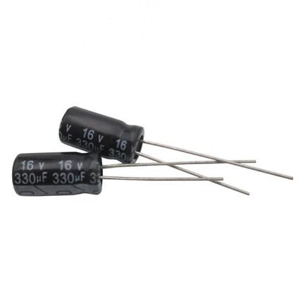 50PCS 50V 82uF 50Volt 82MFD Electrolytic Capacitor 6×12