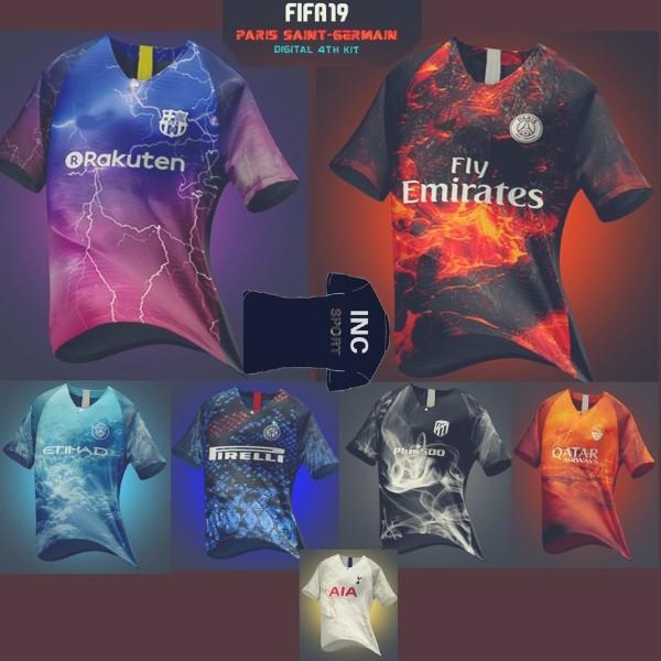 b3678fabd8c Juventus Special Edition Jersey FIFA 18 EA SPORTS Digital 4th Kits ...