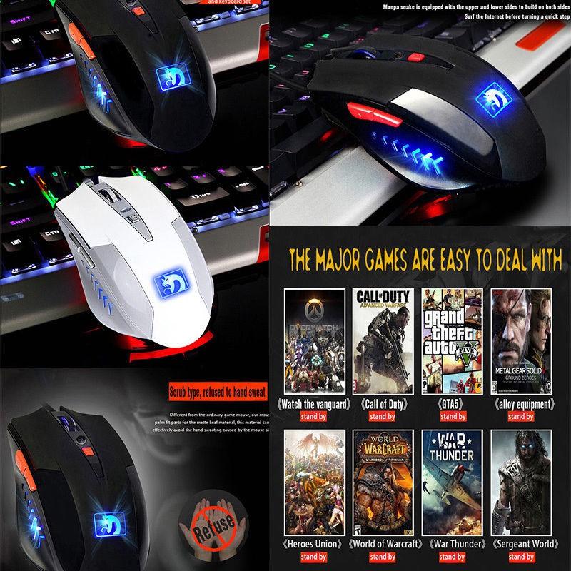 M938 LED Backlit Usb Ergonomic Gaming Keyboard + Gamer Mouse Sets + Mouse  Pad