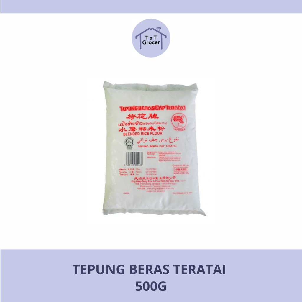 Tepung Beras Cap Teratai (500g)