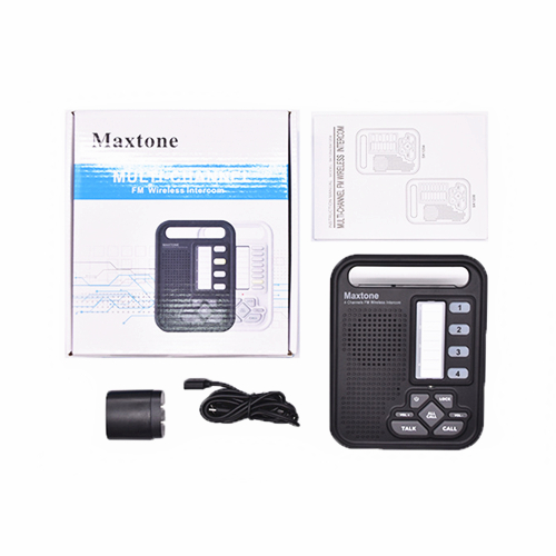 MAXTONE SK1204 Home/Office 4 Channel Wireless Voice Intercom System