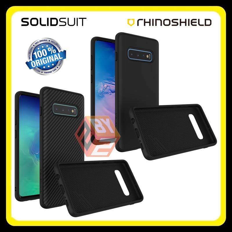 Original Rhinoshield Solidsuit Galaxy S10 S10 Plus Case Cover Casing Shopee Malaysia