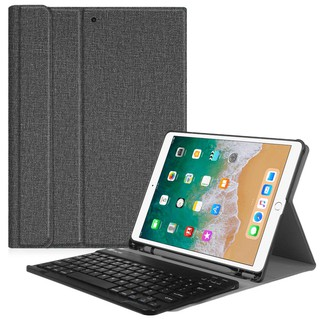 big sale 02a30 4ef45 Fintie Keyboard Case with Pencil Holder for iPad Air 2019 3rd Gen (3 Colors)