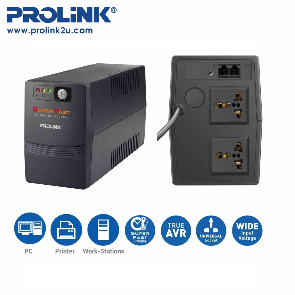 Schematic Diagram Ups Prolink