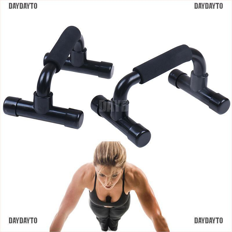 2x Push Up Bars Stands Workout for Travel Home Gym /& Fitness Muscle Training