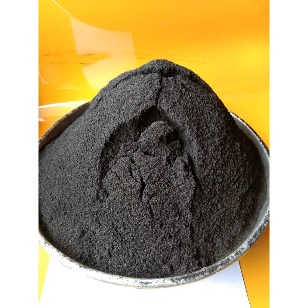 ACTIVATED CARBON CHARCOAL POWDER/ BLENDED BAMBOO CARBON(FINE:50MESH SIEVE)FOOD GRADE, COSMETICS, AQUARIUMS,HORTICULTURE.
