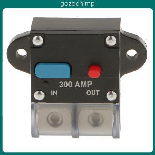 Waterproof 50 Amp-300 Amp Circuit Breaker 0 or 4 Gauge Wire Terminal Car 12V-42V