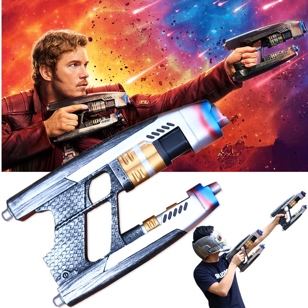 Costume Props A Pair Of 2018 Movie Avengers 3 Infinity War Star Lord Cosplay Double Guns Peter Jason Quill Superhero Weapon Props Halloween Novelty & Special Use