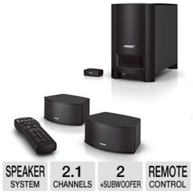 Bose CineMate GS Series II Digital Home Theater Speaker System(used)