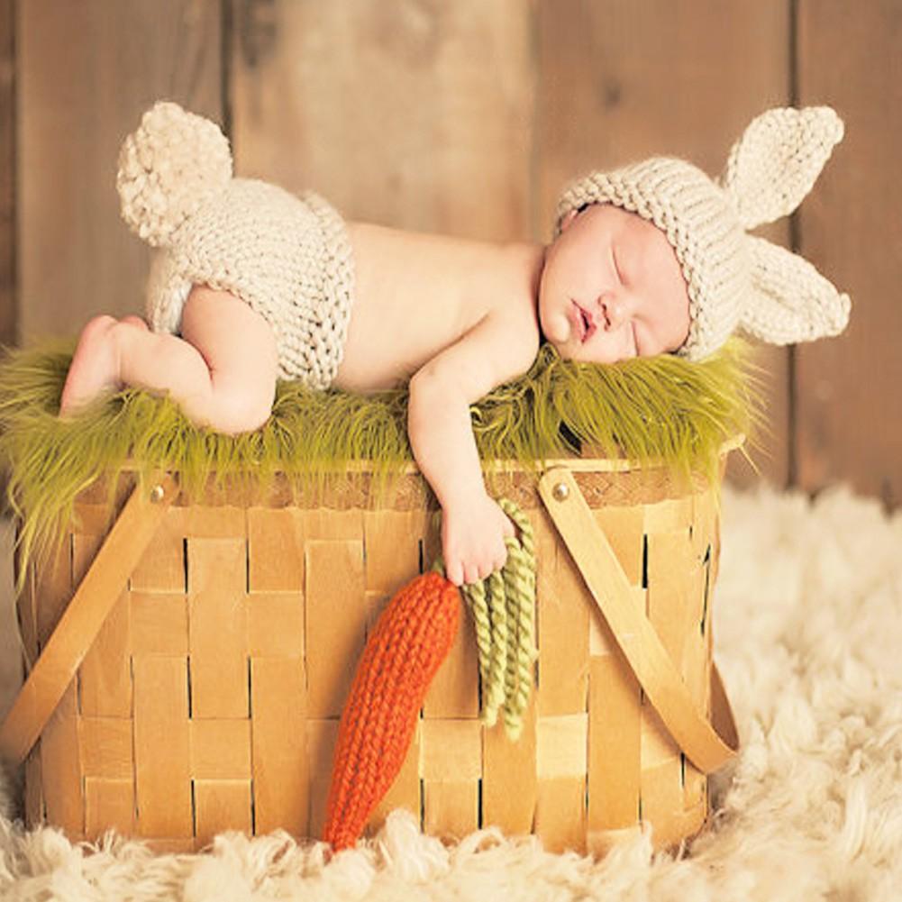 ชุดCrochetเด็กชายหญิง แรกเกิด สำหรับถ่