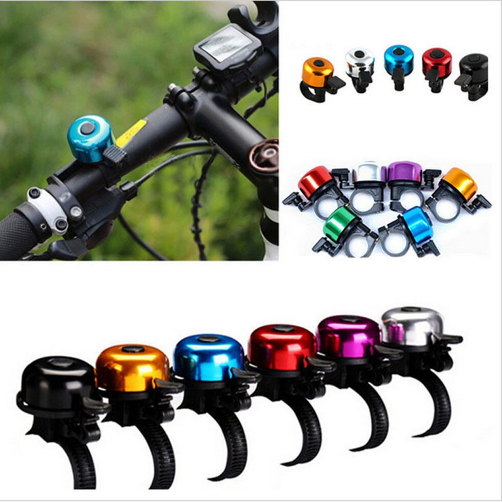 Clear /& Loud Ping Bell Bike Bicycle Handle Bar Ring Cycle Push Sports Horns ·