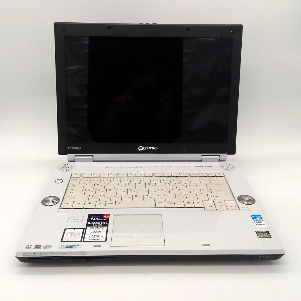 CHEAP 4GB Refurbished Toshiba QOSMIO F40/87EBL AV laptop