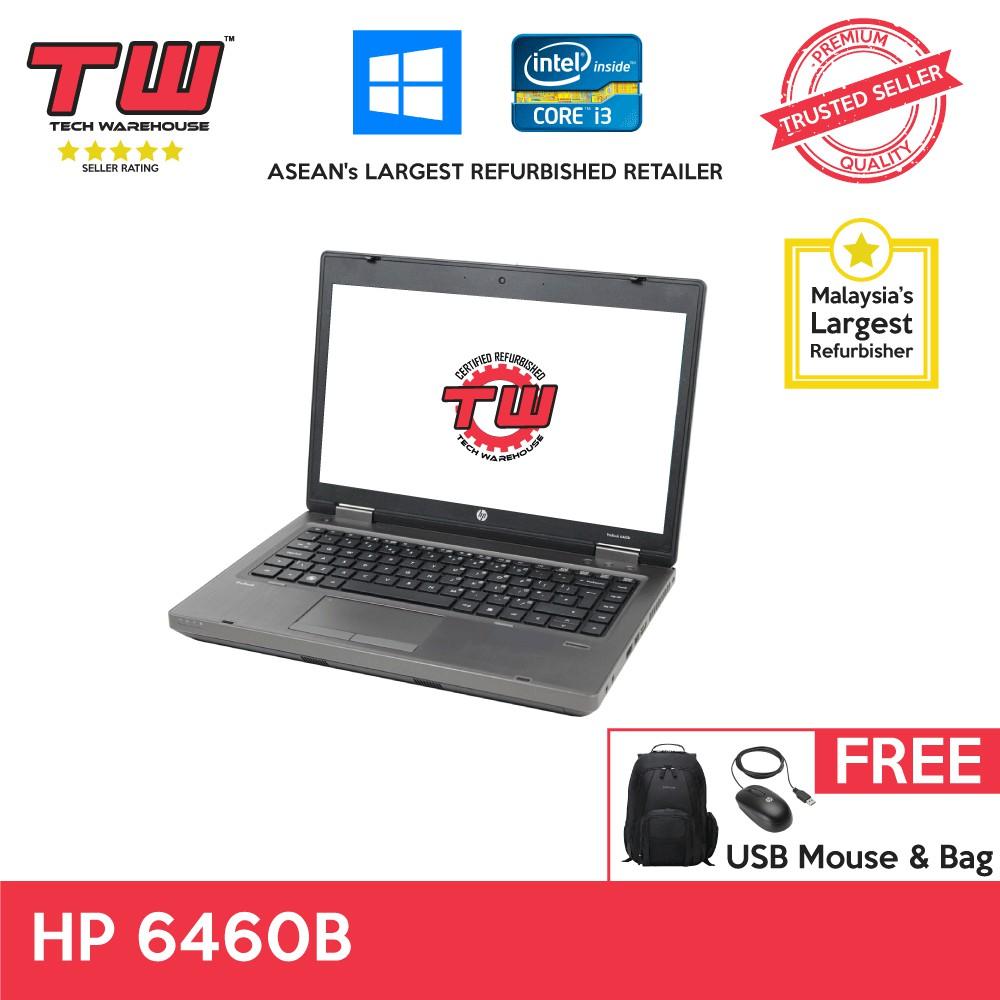 HP 6460B Core i3 Laptop + Windows 7 + Extended Warranty
