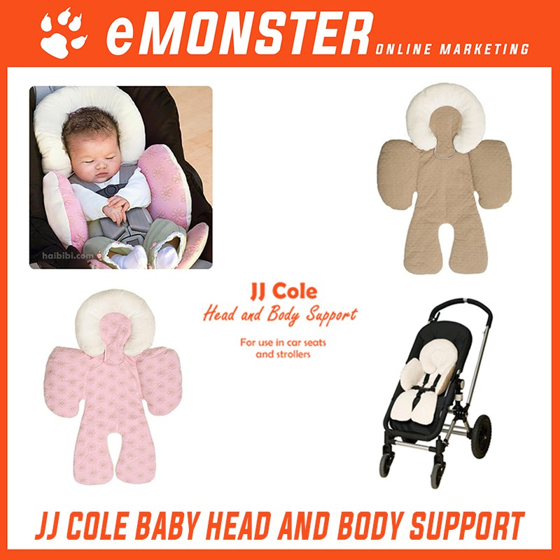 JJ Cole Baby Head Body Support Pillow For Car Seat Stroller Tilam Bayi