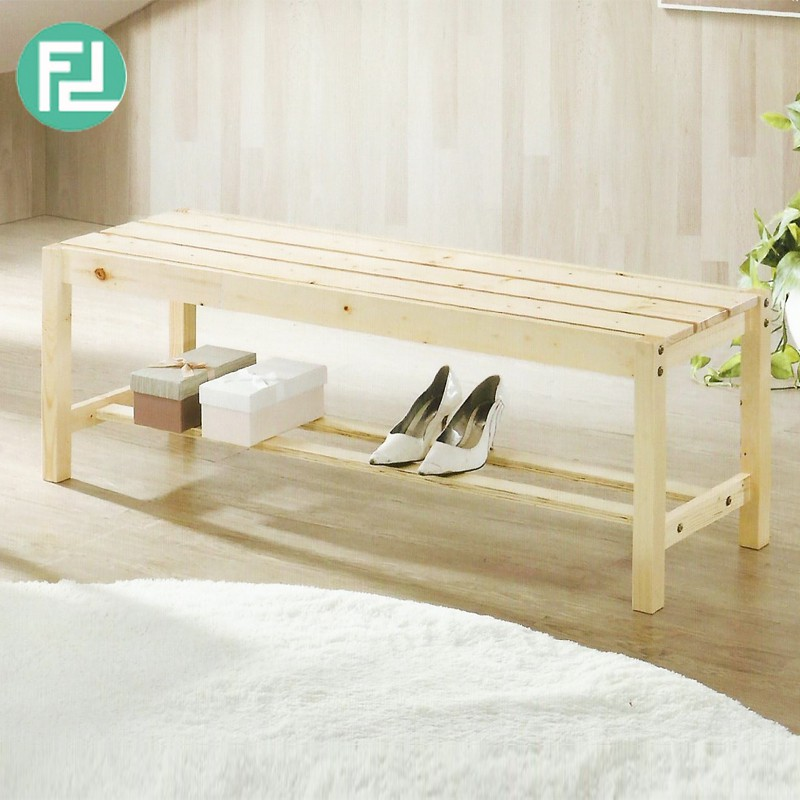 Furniture Direct OCMAC P01 WOODEN BENCH-2 COLORS