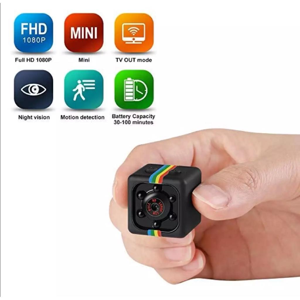 Mini Hidden Camera Portable Small HD Nanny Cam 1080P/720P