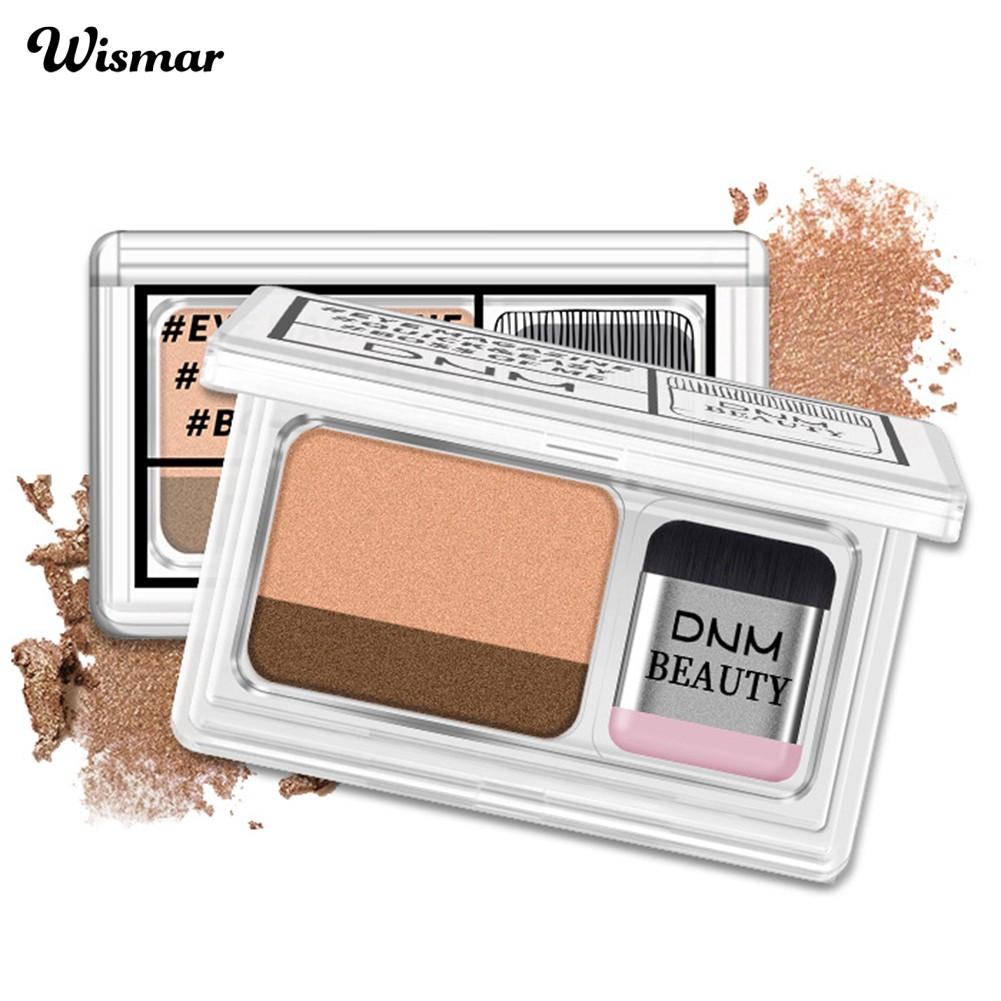 (in stock) 2g Pearlescent Two-color Gradient Stamp Eyeshadow Waterproof