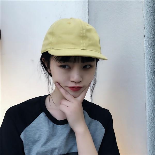 a03e0441c Summer Korean Chic Harajuku Hip Hop Couple Snapback Baseball Sun Trucker  Cap Hat
