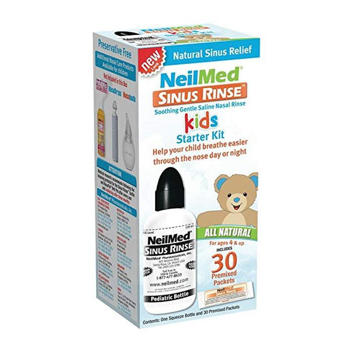 Neilmed Sinus Rinse Kids Starter Kit (Bottle + 30 Saline Packets)