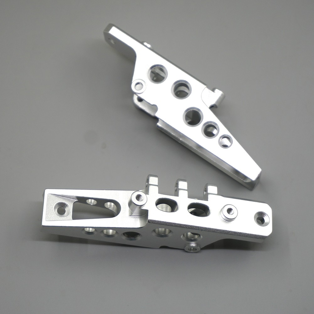 Alloy Front /& Rear Shock Suspension Bracket Mount For 1//10 RC Car Axial Wraith