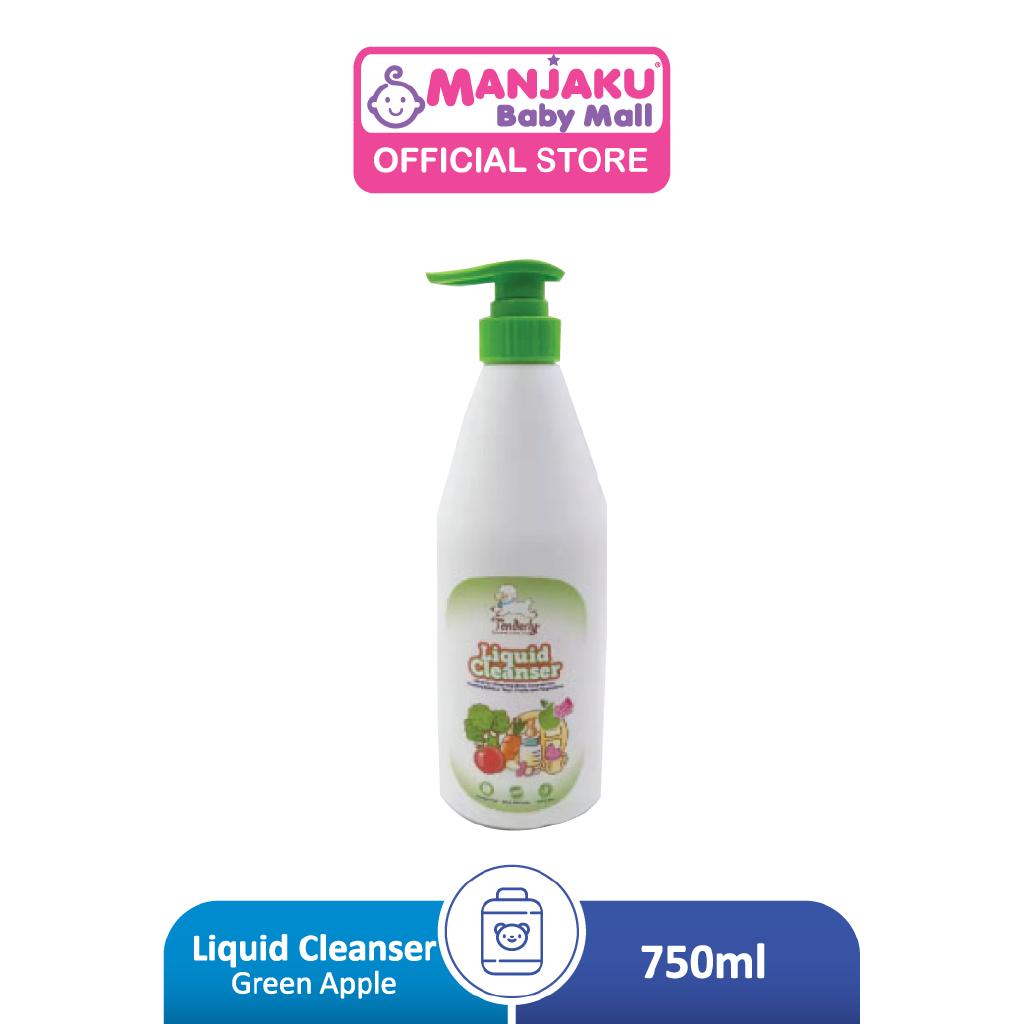 Tenderly Liquid Cleanser - Green Apple Flavour  (750 ml)