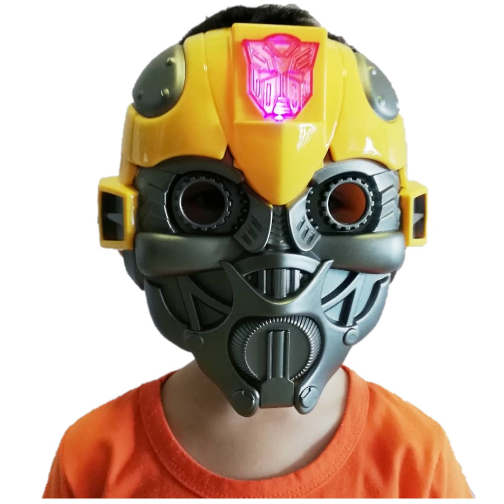 Transformer Bumblebee Optimus Prime Mask Costome Play Pretend Play