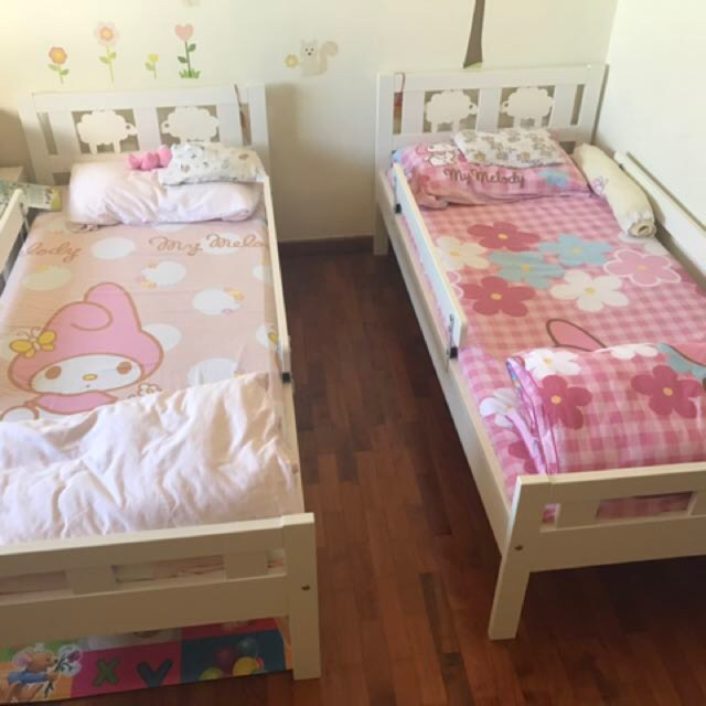 Ikea Kritter Kids Bed Frame With
