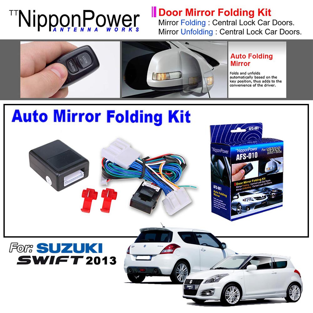 Car Side Folding Mirror Automatic Control Box For Toyota Camry 2010-2017