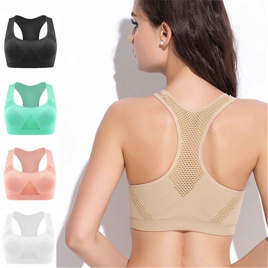 19892c722a5eb Women s Fashion Seamless Yoga Vest Gymwear Outdoor Sports Jogging Bra Tops