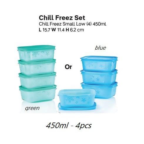 Chill Freeze Set 450ml (4pcs) Tupperware