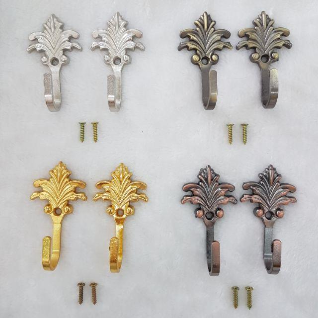 🏡🎀 Cangkuk Besi Tali Langsir (2 pcs) / Hook Curtain Holder *2pcs 🏡🎀