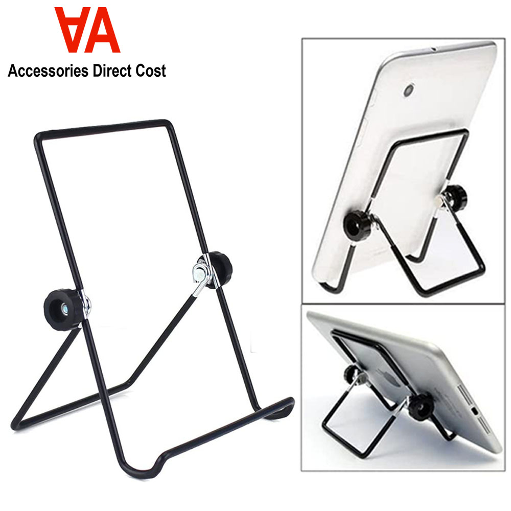 Multi-angle Adjustable Foldable Metal Non-slip Stand Holder for iPad Tablet