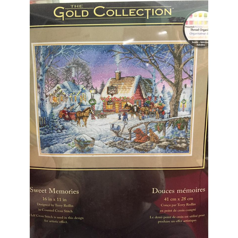 Dimensions Cross Stitch Kit Sweet Memories