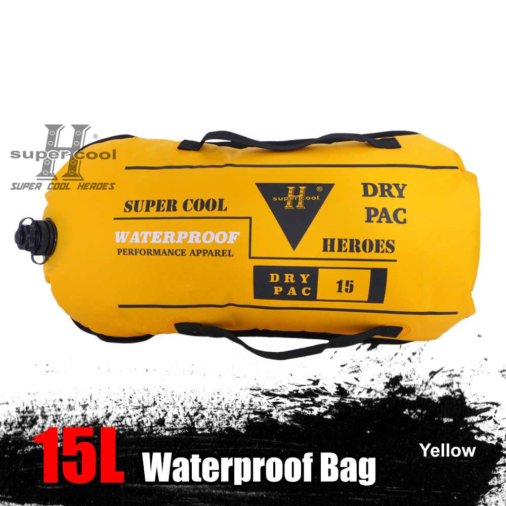 SC Ocean Pack Dry Bag Waterproof Storage Bag - 5L/10L/15L/20L/25L/30L (READY STOCK)
