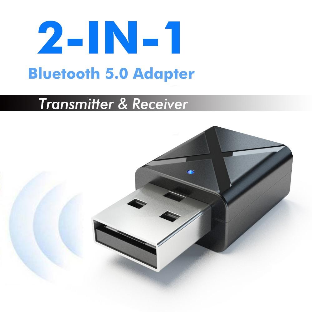 Wireless Bluetooth Receiver 5 0 Music Adapter Audio TV Bluetooth  Transmitter earphone spaker Car Kit AUX PC Laptop
