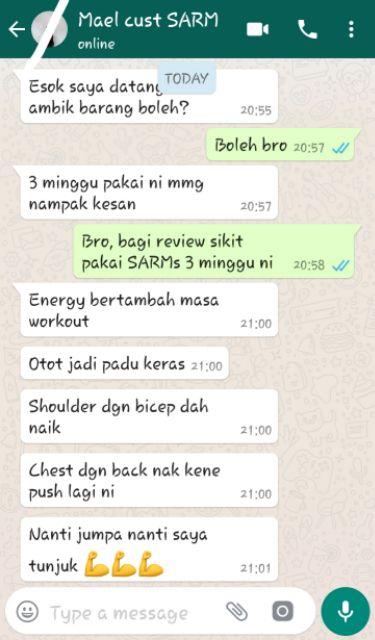 SARMs LGD4033 (Bulking) | Shopee Malaysia