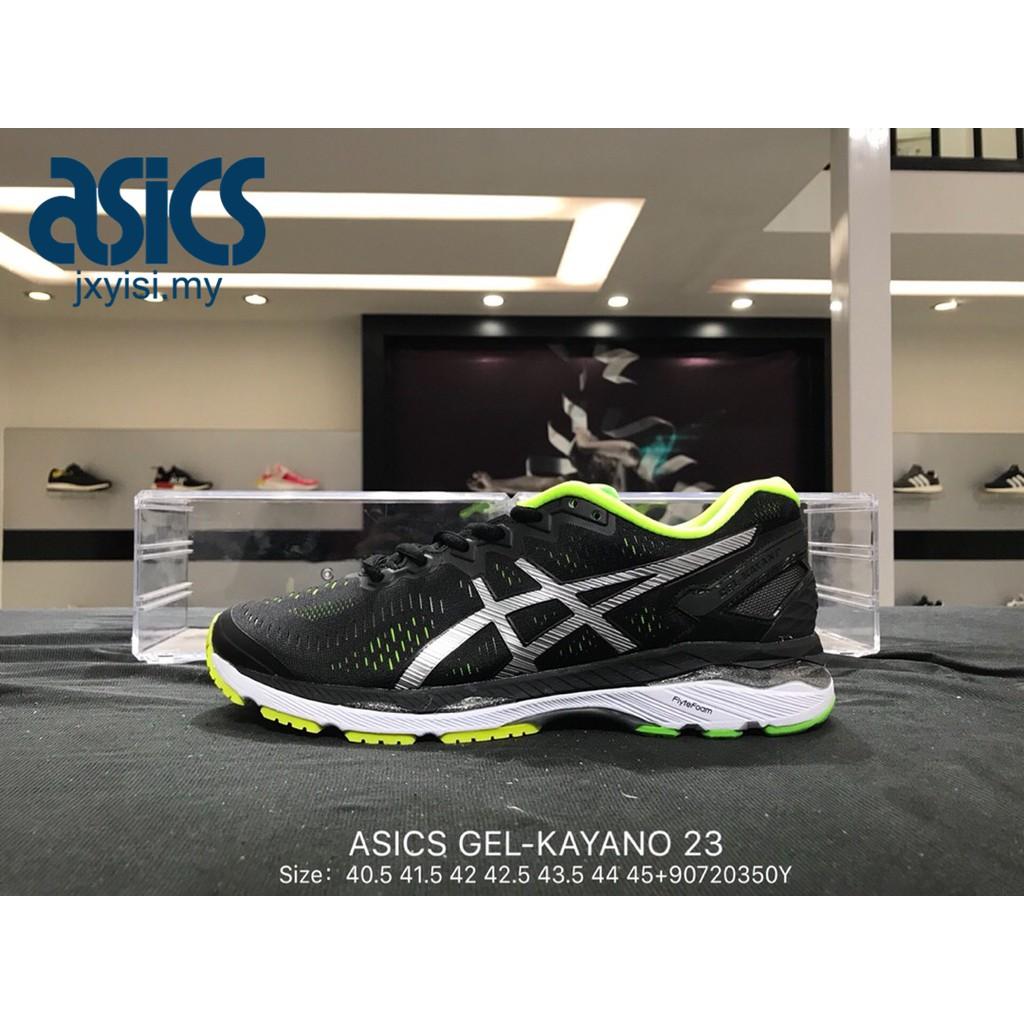 4c1f89616f1c Original ASICS GEL-KAYANO 23 Men Breathable sports jogging running shoes  black