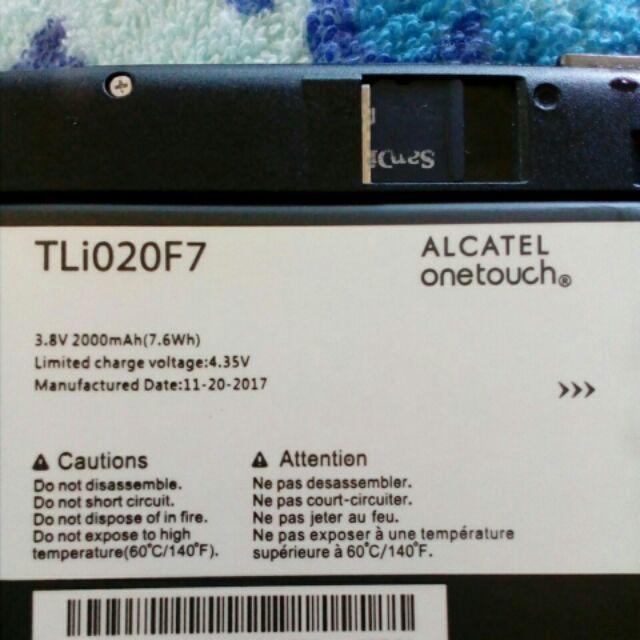 Import] Alcatel Pixi 4 5 0 inch 5045T TLI020F1 Battery