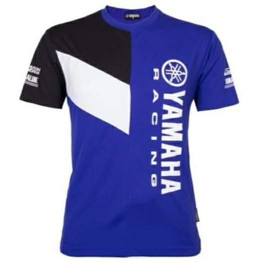 Yamaha Racing T-Shirt Round Neck Motogp Bk/