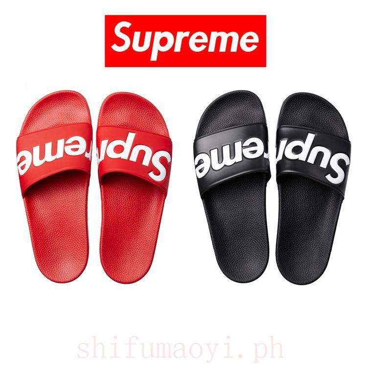 3228f3868 supreme sandal - Sandals & Flip Flops Prices and Promotions - Men's Shoes  Jul 2019 | Shopee Malaysia