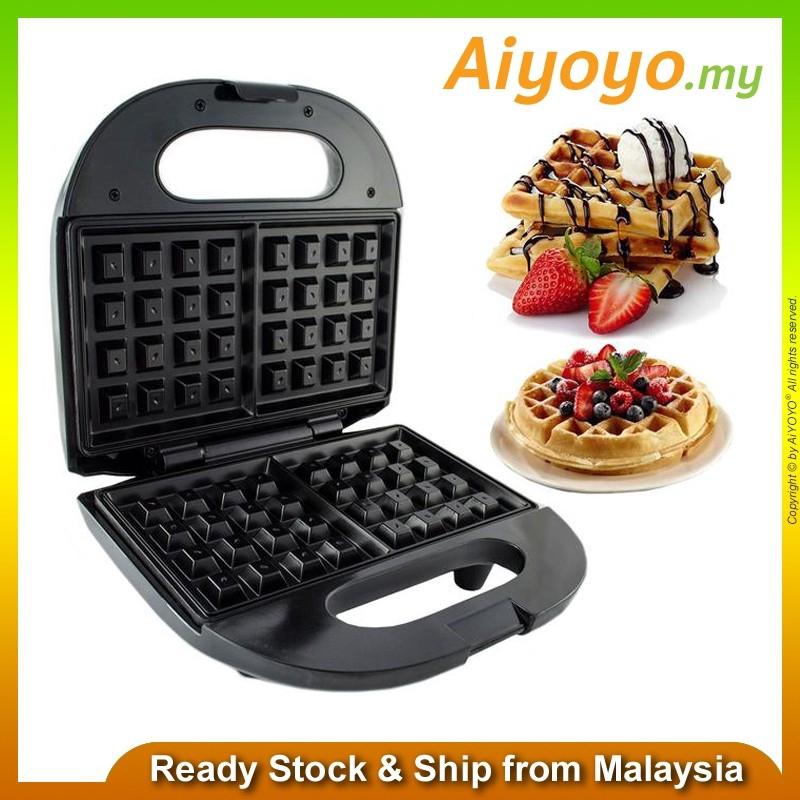 SOKANY KJ-108 Waffle Machine Maker Baking Tools Sandwich Non stick coated plate