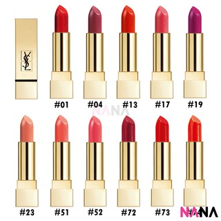 YSL Yves Saint Laurent Rouge Pur Couture 3.8g #01,13,19,04