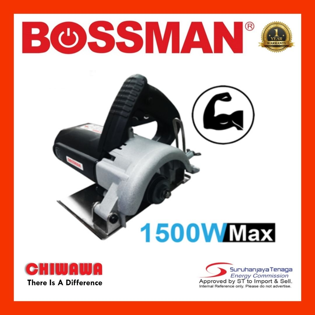 "BOSSMAN BMC-489 / BMC489 1500W 4"" Marble Cutter High Quality Tools ~NEW PRODUCT"